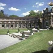 Новый дворец в Байройте и придворный парк
