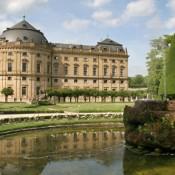 Резиденция и придворный сад в Вюрцбурге